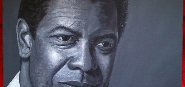"DENZEL - painted as a gift for my mums birthday this coming December, acrylic on 12"" x 9"" box canvas (OCT 2013) SOLD"