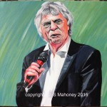 "STAN THE MAN - Liverpool's living legendary comic Stan Boardman. What more can be said? This painting makes me smile! Done on 16"" x 12"" box canvas in acrylics (JUNE 2015)"