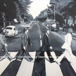 "ABBEY ROAD - a commission done for Christmas of the famous Beatles albym cover, which took around 25 hours overall. Done on 18x14"" box canvas in acrylics (DEC '16) SOLD"