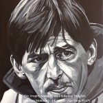 "THE TROPHY WINNERS (DALGLISH) - one of eight 12x9"" canvases painted in acrylics to celebrate LFC's rich history and to emphasise that success in football is measured in silverware and not money. King Kenny took roughly 8hrs to complete (APR-JUNE 2017)"