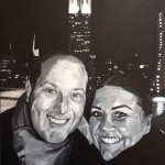 DAVID AND BECCA - a commission done of my friend and his fiancee who sadly passed away (JAN 2019) *SOLD