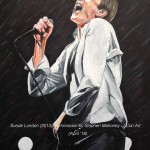 "SUEDE LONDON (2013) - an 18x14"" commission in acrylics for an old friend, a big birthday present for her husband. They were both at this gig in Alexandra Palace in London. Completed after 11hrs overall (MAY '18)  SOLD"